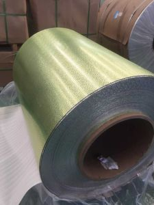 Aluminum Embossed Sheet Coil Pebble Pattern for Roofing pictures & photos