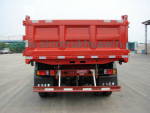 Cdw 4X2 9 Ton Extended Cabin Dump Truck pictures & photos
