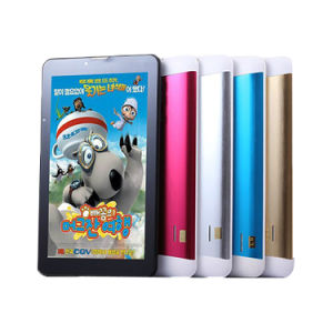 7 Inch Dual Core 3G WCDMA RAM 512MB ROM 8GB Front 0.3MP Rear 2.0MP 1024*600 IPS Bluetooth Android Tablet pictures & photos