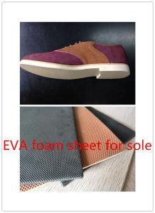 70-80shore Small Diamond Design EVA Foam Soling Sheet pictures & photos