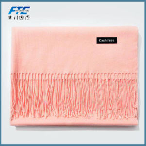 High Quality Scarves Long Style Lady 100% Cashmere Scarf pictures & photos