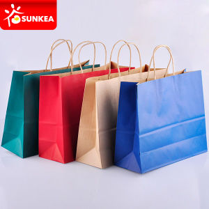 Custom Brand Printed Eco Friendly Paper Bags pictures & photos