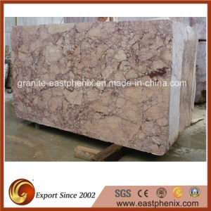 Imported Pink Rose Marble Slab for Decoration Material pictures & photos