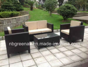 New 4PCS Rattan Wicker Furniture for Outdoor Conservatory pictures & photos