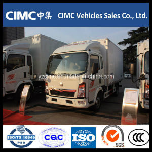Sinotruk HOWO Refrigerated Van Truck for Fresh Meat Refrigeration Truck pictures & photos