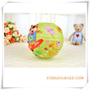 2015 Promotional Gift Children DIY Animal Paper Lantern Party Favor Hall Decoration Hanging Cartoon DIY Paper Lantern Best Sell (TY11001) pictures & photos