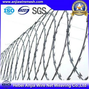 CE and SGS Galvanized Razor Wire Barbed Wire pictures & photos