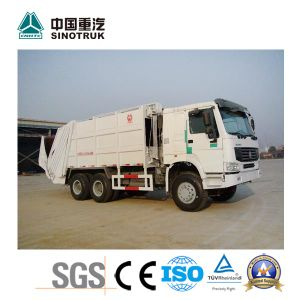 Popular Model HOWO Garbage Truck of 16-17m3 pictures & photos