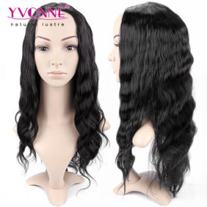 Natural Color Brazilian Body Wave Lace Front Wig pictures & photos