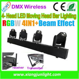 Four Head 10W DJ Light Moving Head Quad Color Show pictures & photos