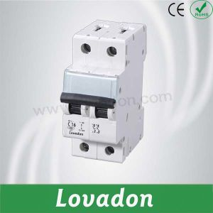 Lcb3 Series 400V 16A 2p Miniature Circuit Breaker pictures & photos