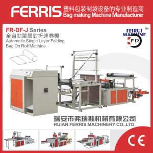 Automatic Folding and Rolling Garbage Bag Making Machine