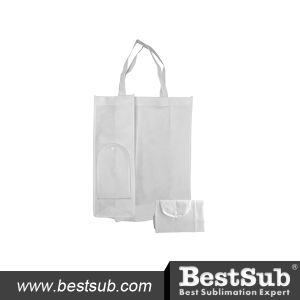 Promotional Sublimation Printable Foldable Non-Woven Shopping Bag (HBD03) pictures & photos