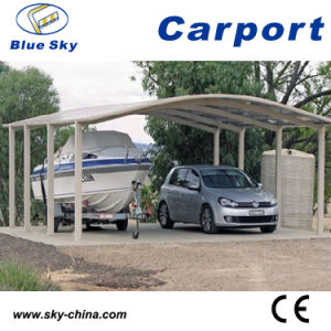 Polycarbonate and Aluminum Carport for Car Shed pictures & photos