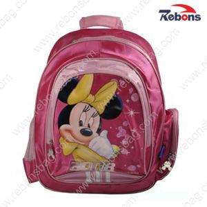 Trendy Waterproof Satin Cartoon Satchel Bags for School Girls pictures & photos