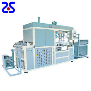 Zs-1220 Semi-Auto Plastic Roll Vacuum Forming Machine pictures & photos