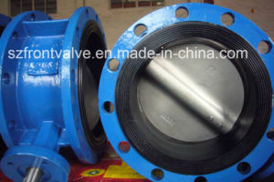 U Type Flanged End Ductile Iron Butterfly Valve pictures & photos