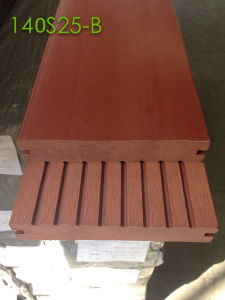High Stock Volume WPC Composite Floor Board Wooden Grooved & Tongue Decking pictures & photos