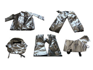 Fireman Aluminum Foils Protective Suit for Sale pictures & photos