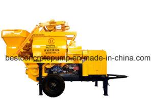 Electric Concrete Mixing Trailer Pump Qjhbt30c-I