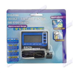 Fridge / Freezer Thermometer with Alarm (TM803) pictures & photos