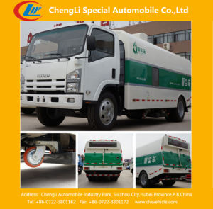 4X2 Isuzu Sewage Suction Truck with Vacuum Suction Pump pictures & photos