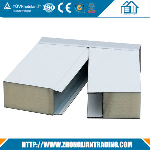 Multi-Function Fire Resistant Building Material Rockwool Sandwich Panel pictures & photos