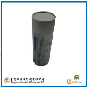 Customized Round Hard Craft Cylindrical Tube Paper Box (GJ-Box326) pictures & photos