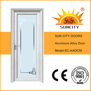 Economic New Design Single Waterproof Aluminum Doors (SC-AAD038) pictures & photos