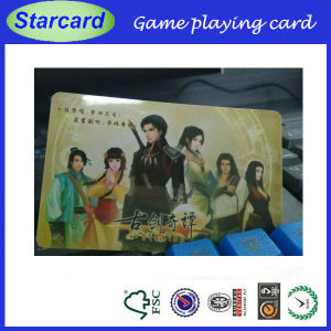 Scratch off PVC Game Card pictures & photos
