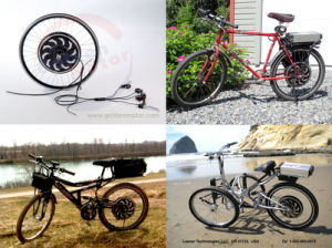 Bluetooth! Electric Bicycle Conversion Kit / Brushelss&Gearless Hub Motor pictures & photos