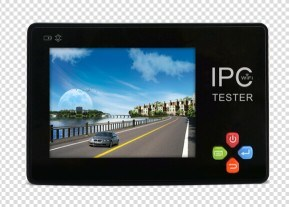 "3.5"" IP Camera Tester CCTV Tester IP Analog Camera Testing 12V"