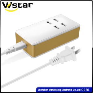 2017 Fashion Smart Fast Charger with 4 USB Ports Charger pictures & photos