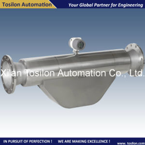 Coriolis Mass Liquid Flowmeter and Density Meter for Diesel Fuel pictures & photos