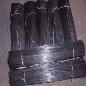 Cold-Drawn Low Carbon Wires PVC Coated Double Loop Tie Wire pictures & photos