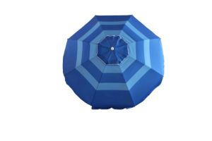 Large Beach Umbrella, New Sripe Polyester with Sliver Umbrella, pictures & photos