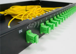 Single Mode Rack Type Optical Fiber Splitter 1 X 16 PLC Splitter pictures & photos