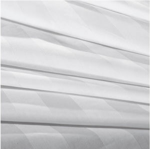 100% Cotton 3cm Stripe Hotel Bedding Set Bed Linen Wholesale Sheet Sets pictures & photos