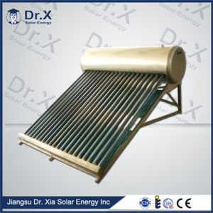 New Portable Heat Pipe Solar Heater Information pictures & photos