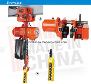 5 Ton Electric Chain Hoist with Electric Motor and Hook pictures & photos