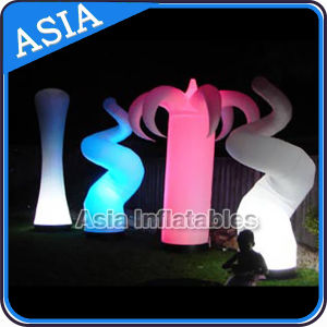 Giant Inflatable Light Air Column Tube, Inflatable LED Cone Tube pictures & photos