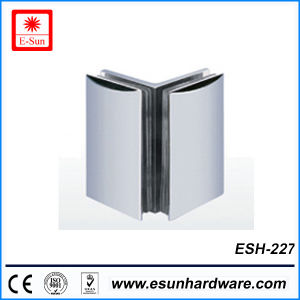 Hot Designs 90 Degree Double Side Glass Hinge (ESH-227) pictures & photos