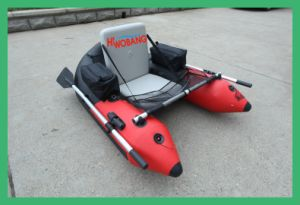 China PVC Inflatable Single Fishing Belly Boat pictures & photos