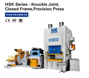 Knuckle Joint Closed Frame Precision Press (200Tons~650Tons) pictures & photos