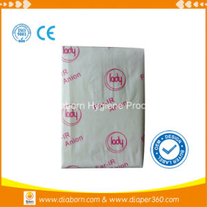 Pulp Anion Panty Liner with Large Absorptive Capacity pictures & photos