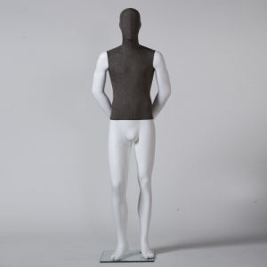 Fabric Wrapped Full Body Male Mannequin in Hot Sale pictures & photos
