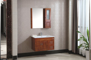 Chinese Cabinet Series Multi-Drawer Oak Bathroom Vanity Cabinet