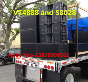 Vt4888 Dual 12 Inch Three-Way Line Array Speaker (1700W) pictures & photos