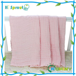 Infant 100% Cotton Muslin Swaddle Blanket Wholesale in China