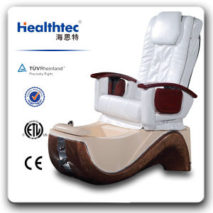 Head Rest Massage Back Salon Massage Chair with Footrest D401-1602 pictures & photos